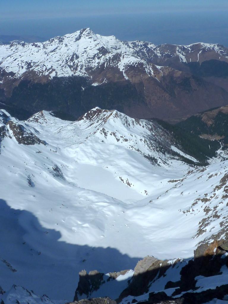 Montaigu du sommet de Pène Blanque