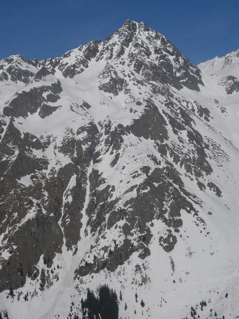 Rocher d'Arguille, couloir SW et Grande Gorge