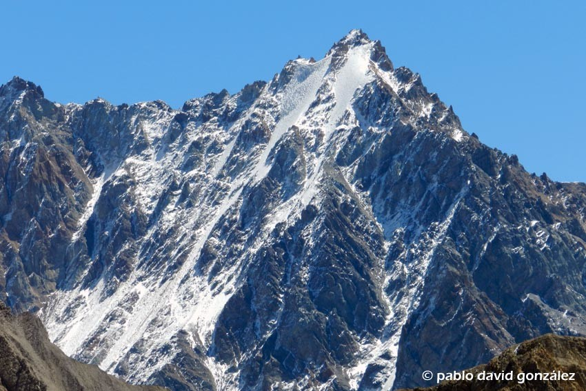 Pico Bonito 4987m, cara sur