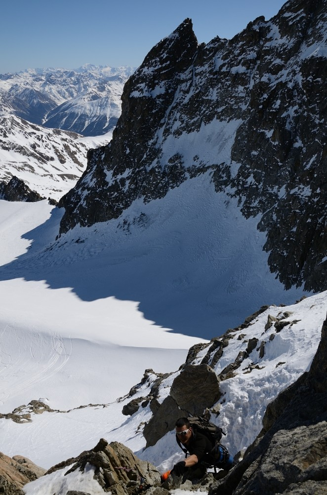 arrampicata al Piz Kesch