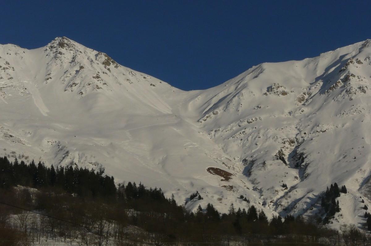 Col de Valbuche, versant W