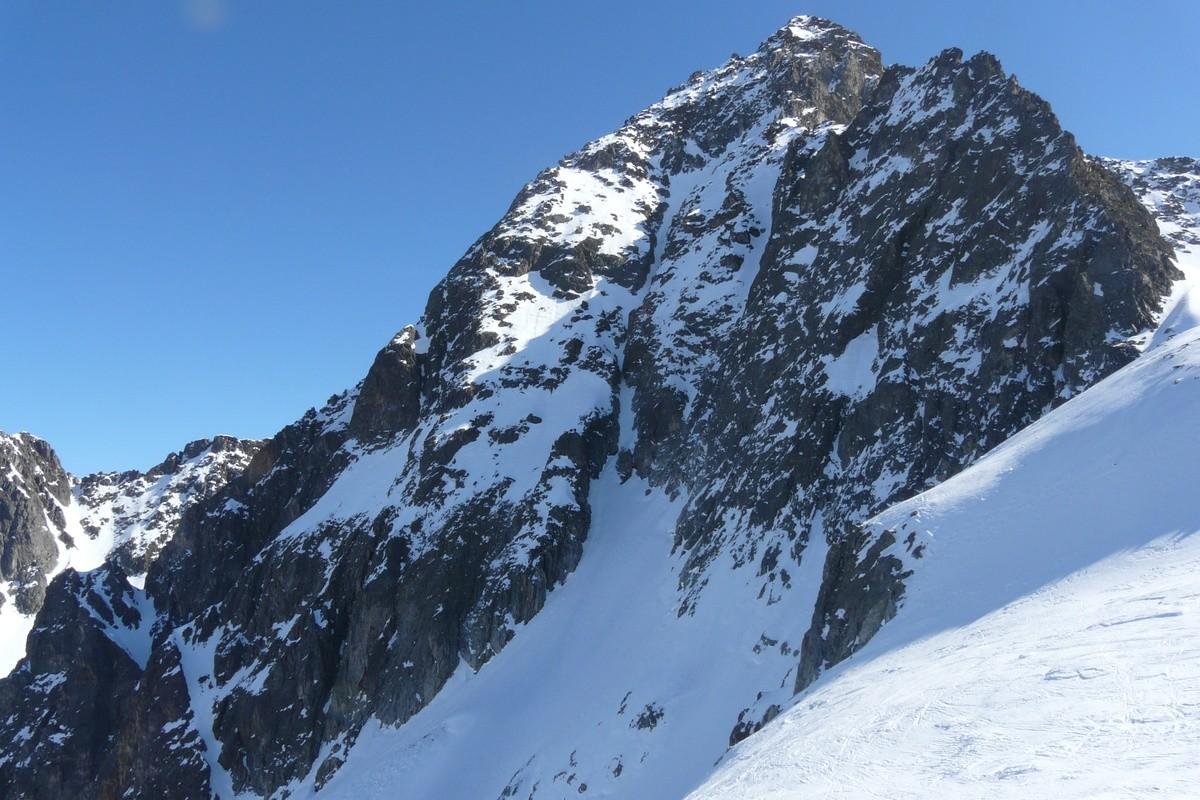 Rocher Badon, versant NW
