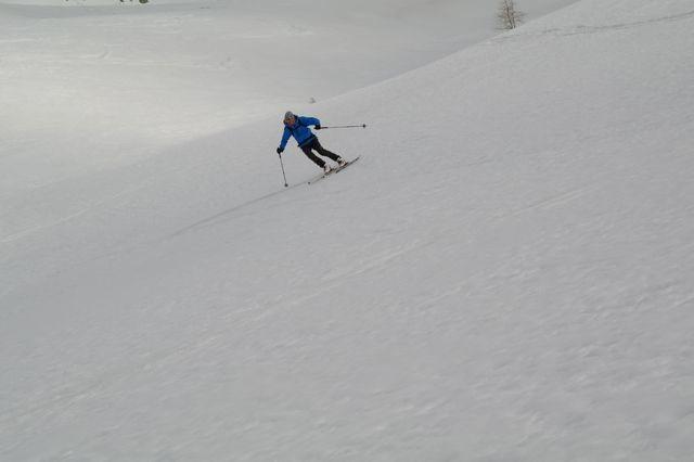 nevi dure in Val Casies