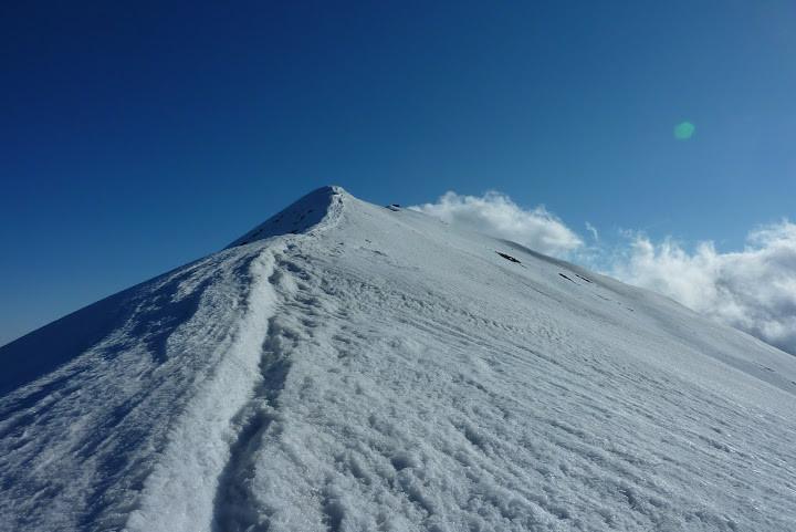 Arrivée au sommet du Quazémi de Dalt