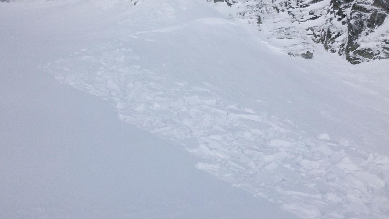 Plaques de neige frite de 25m x 50m environ
