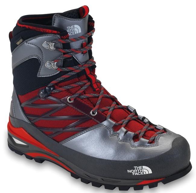 Then north Face se met aux chaussures d'alpinisme avec la Verto.