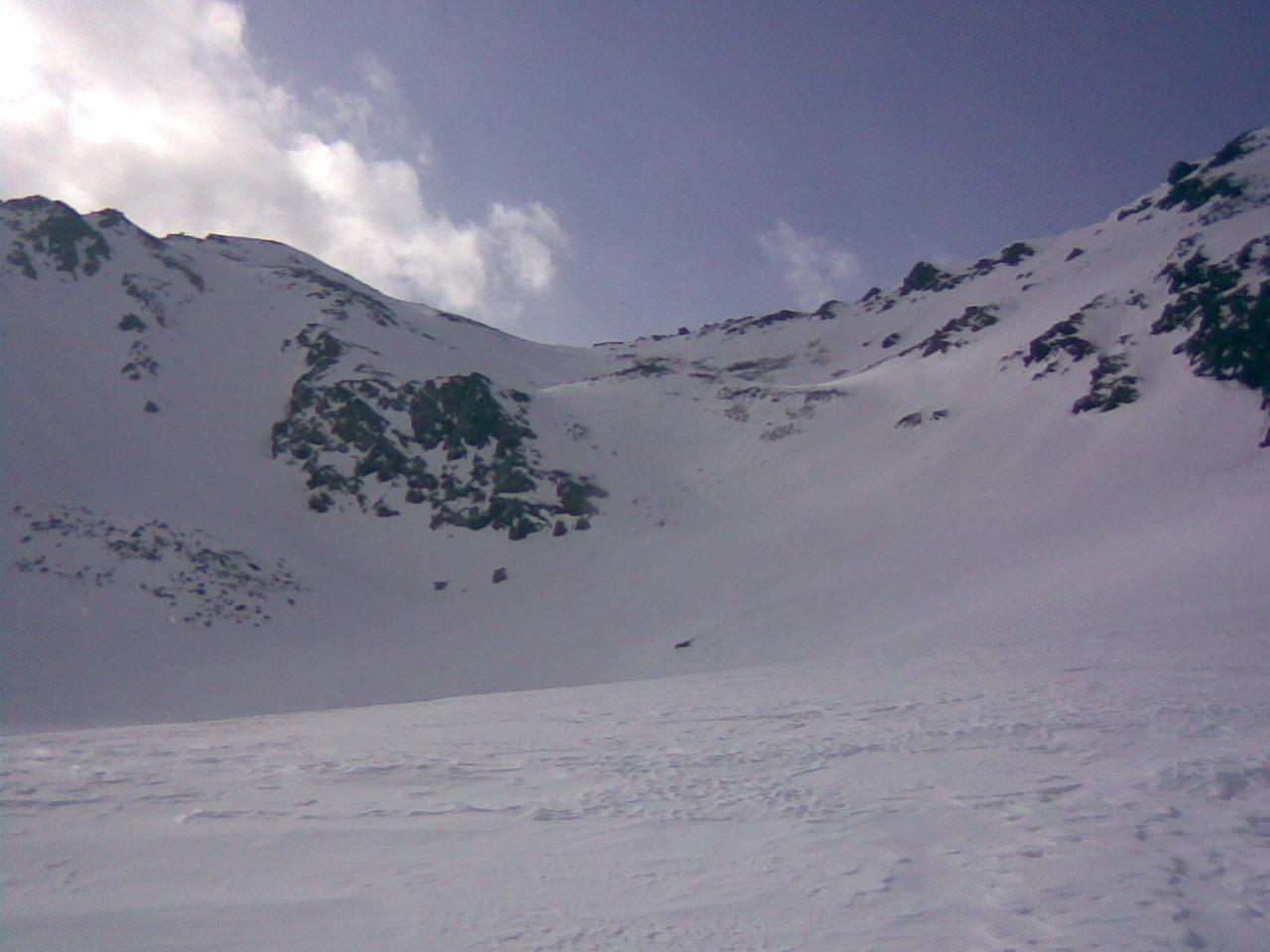 La combe versant nord