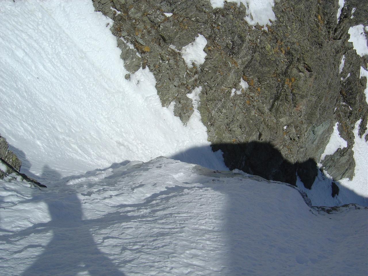 Le bombé du premier rappel en excellente neige!