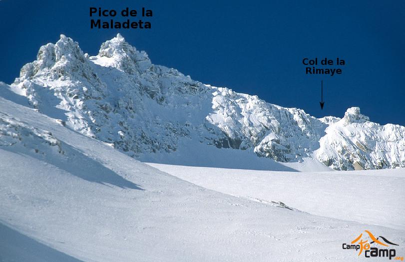 Pico de la Maladeta voie normale
