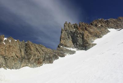 Le Col de Bonne Pierre, désormais bien visible