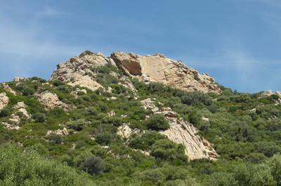 Terre Sacrée, face principale (Sud)