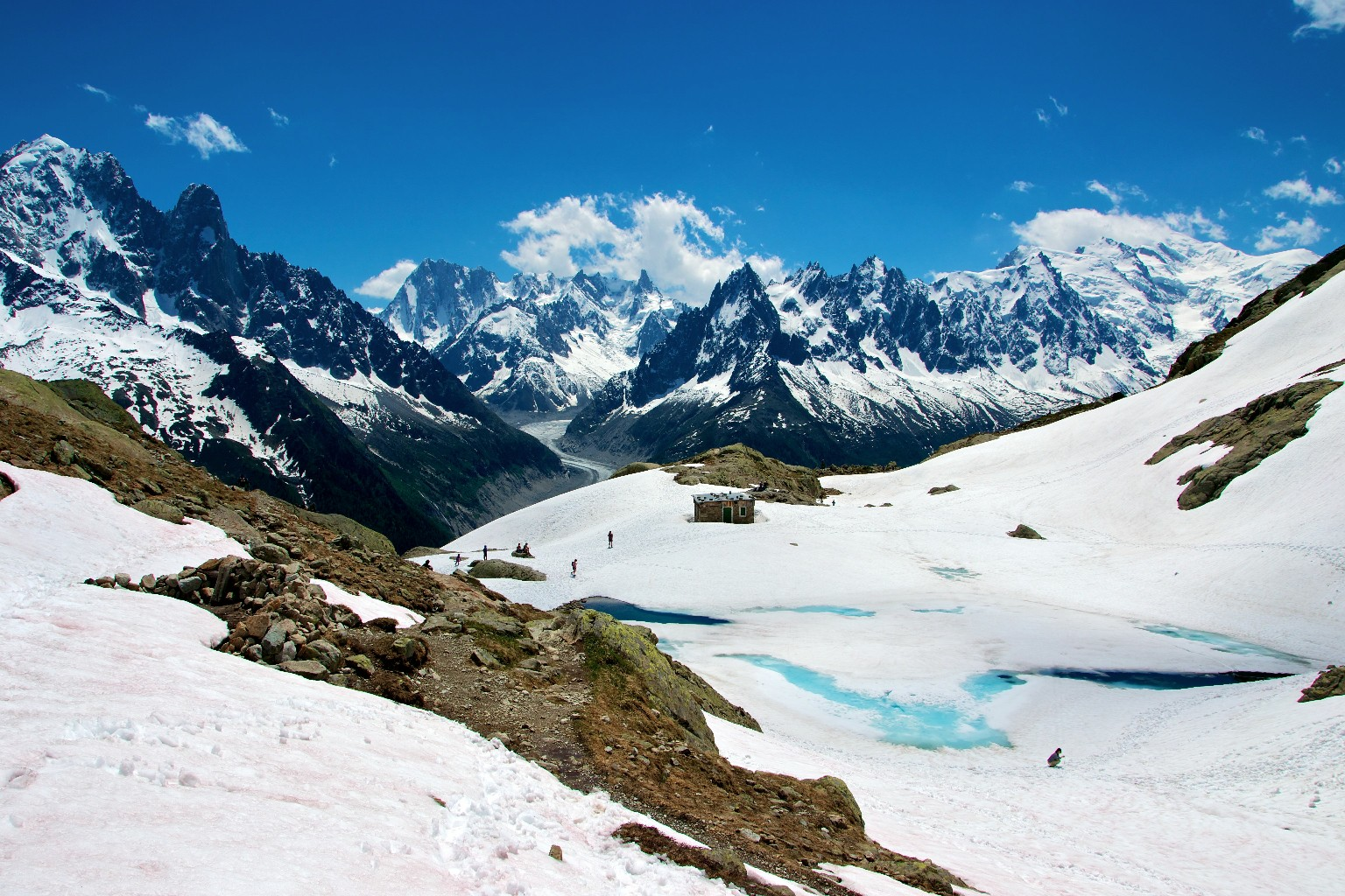 Lac Blanc : Par le col des Montets - Camptocamp.org