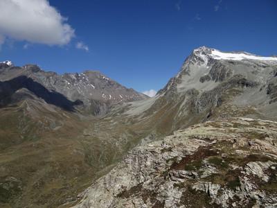 La fenêtre Durand et le mont Gelé - versant Vallée dklzzwxh:0000Aoste