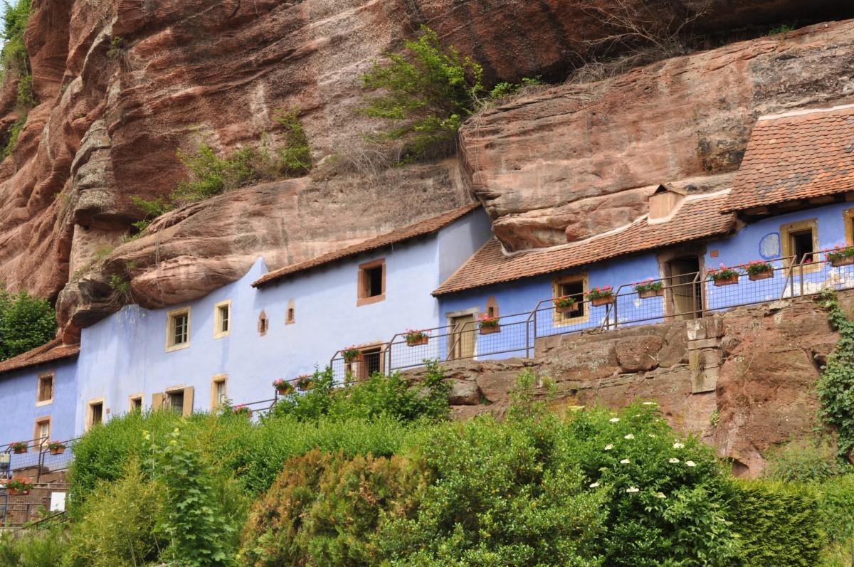 Maisons trogloytes de Graufthal