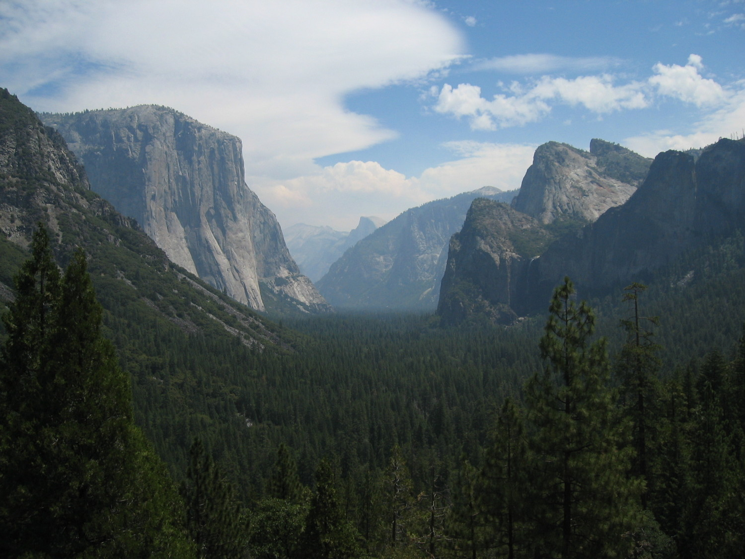 Yosemite National Park / El Capitan - Half Dome