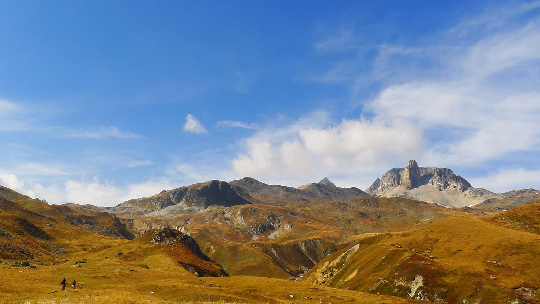 Montée au Mont Thabor en vtt