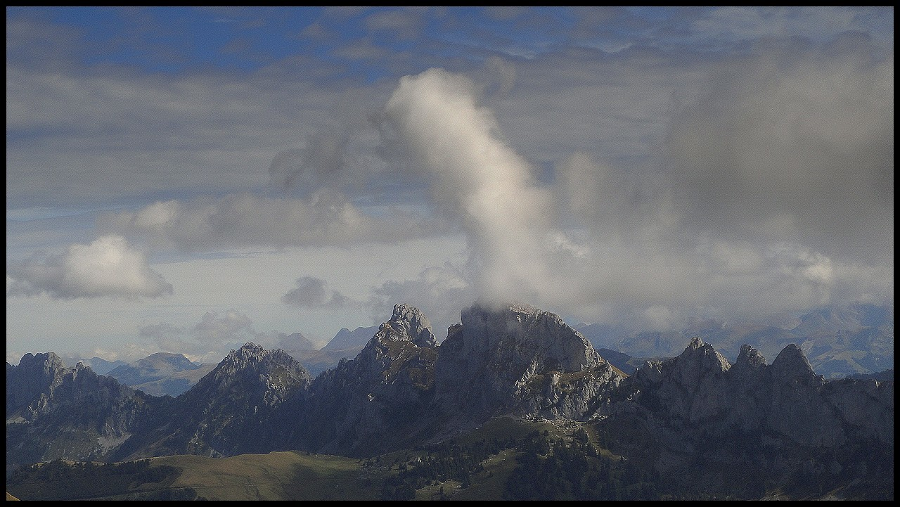 Eruption à la Dent de Savigny?