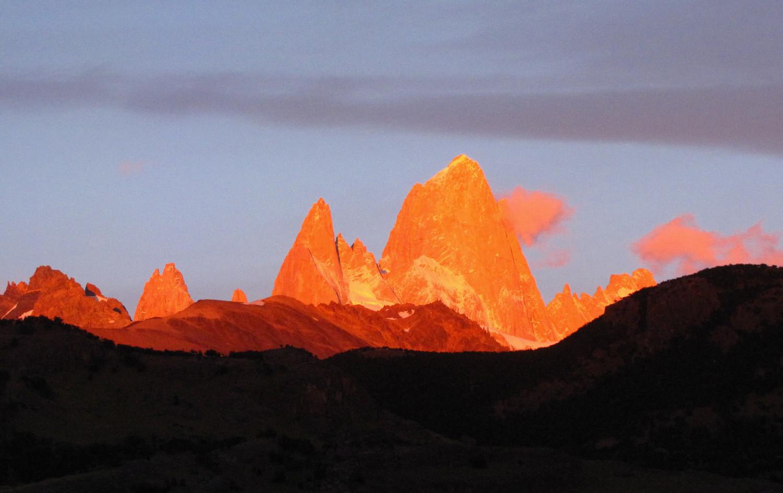 Cerro Fitz Roy, Argentine