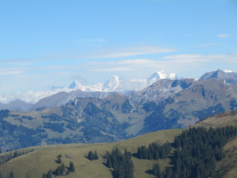 le trio: Eiger, Monch, Jungfrau