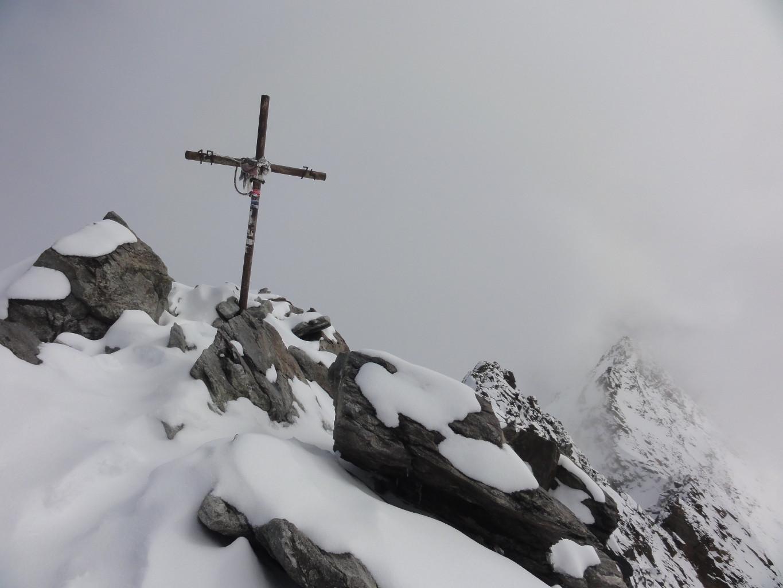 Lagginhorn : sommet
