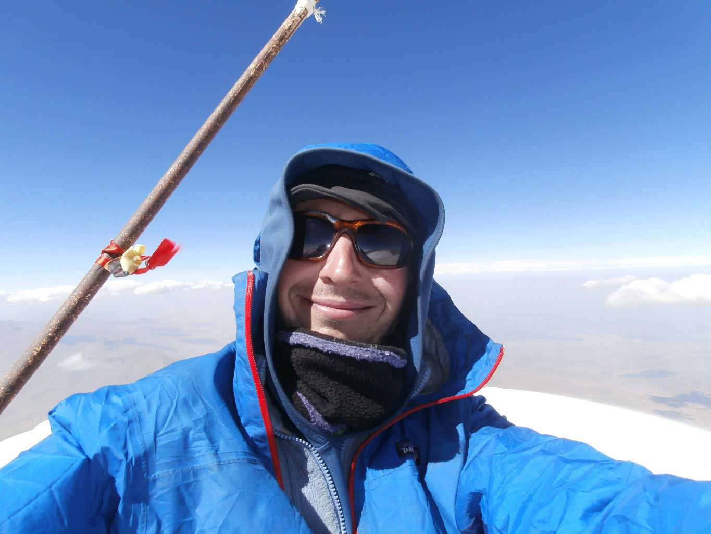 Ma febi sur le toit de la Turquie, vent à 100km/h!