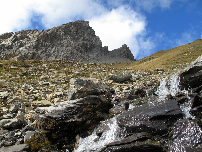 Sous le versant est du Roignais, vers 2400 mètres