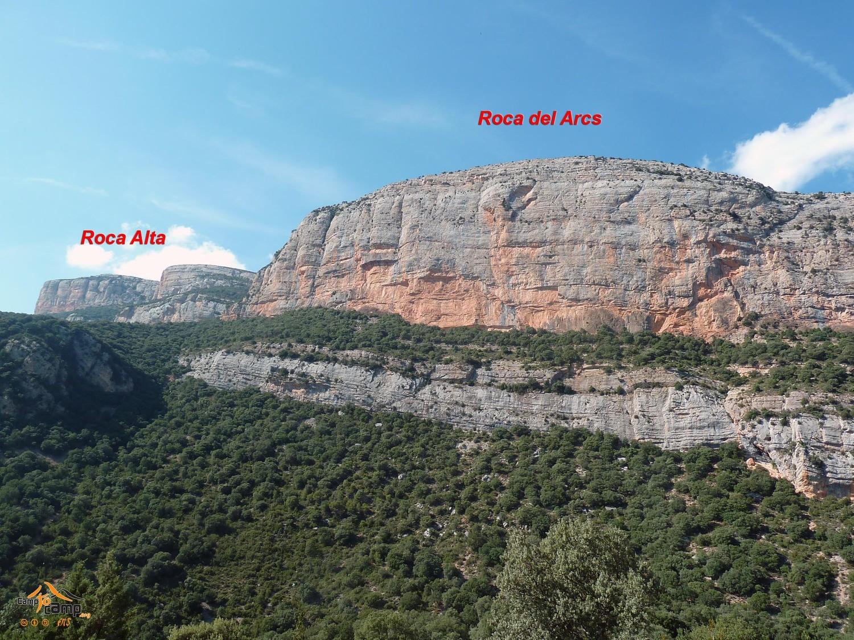 Vilanova de Meià - Roca del Arcs