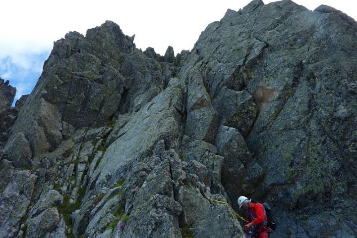 Le dernier passage avant le sommet du Montabone