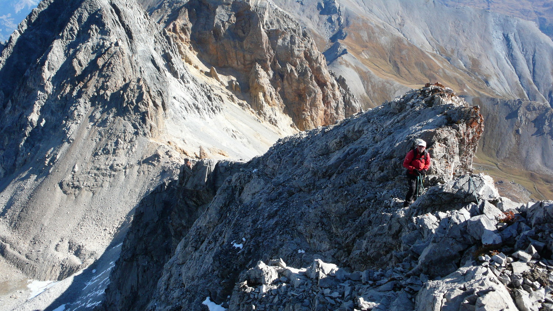 Début de l'arête vers le sommet