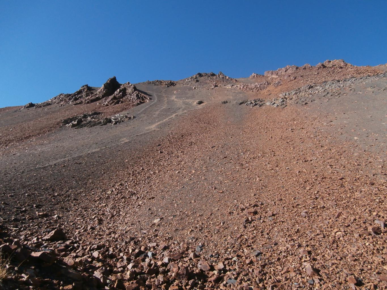 On se croirait sur un volcan chilien!