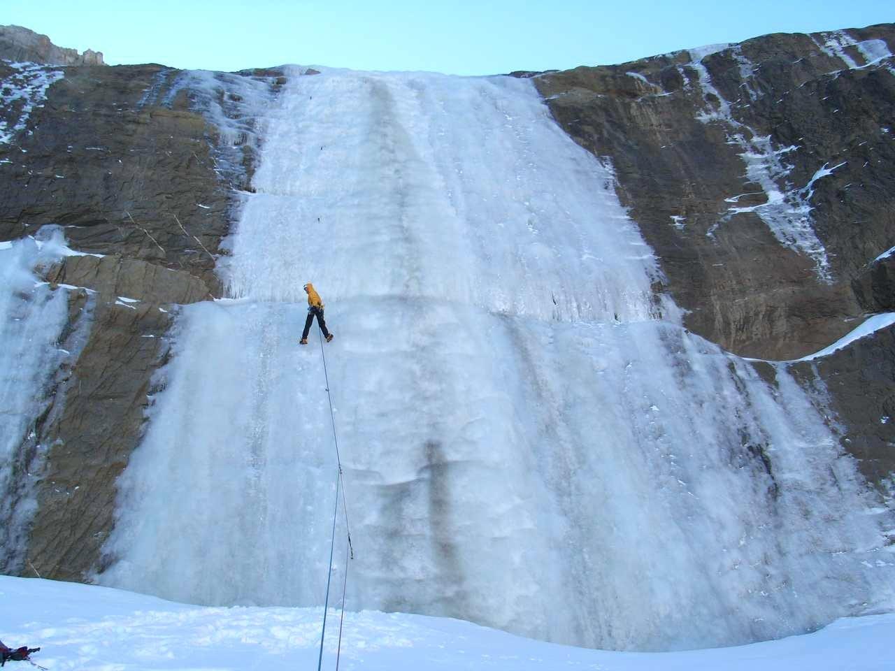Ice dans le grand mur du premier niveau