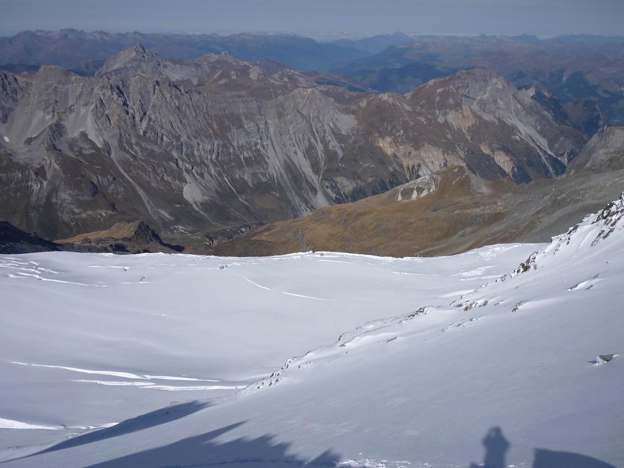 Plateau du glacier du Génépy