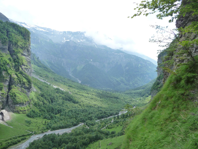 Le début du Vallon sur les hauteurs du Pas de Borêt
