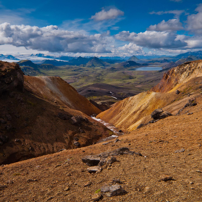 Trek dans le Landmannalaugar // Islande