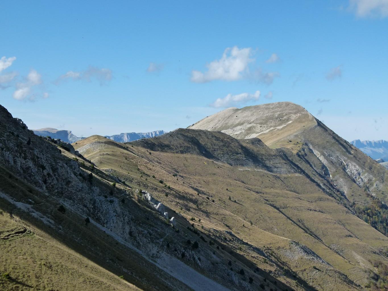 Mt Barral depuis le col de Seysse