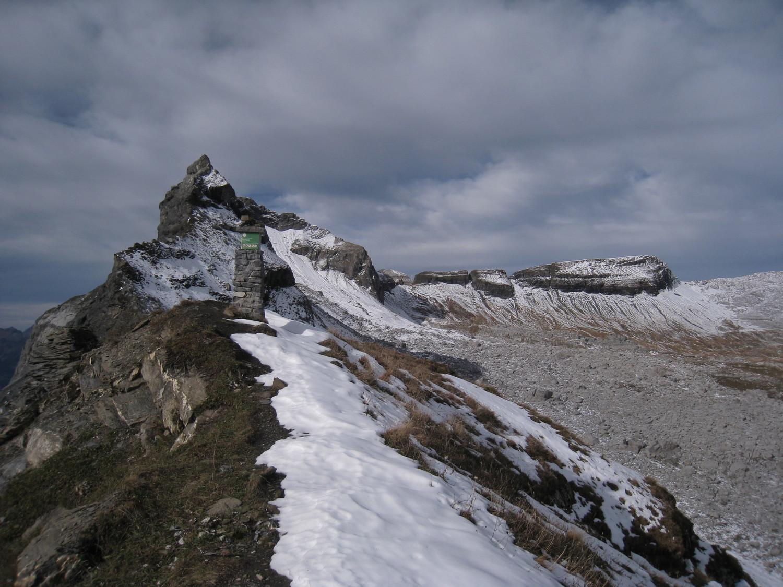 Breche du Dérochoir (2240m) -Pointe Dérochoir