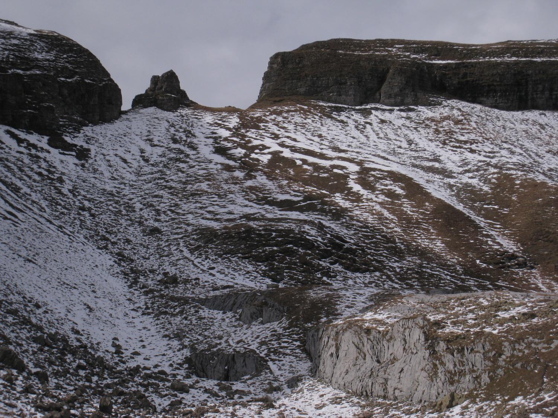 Col de Portetta(2350m) en vue