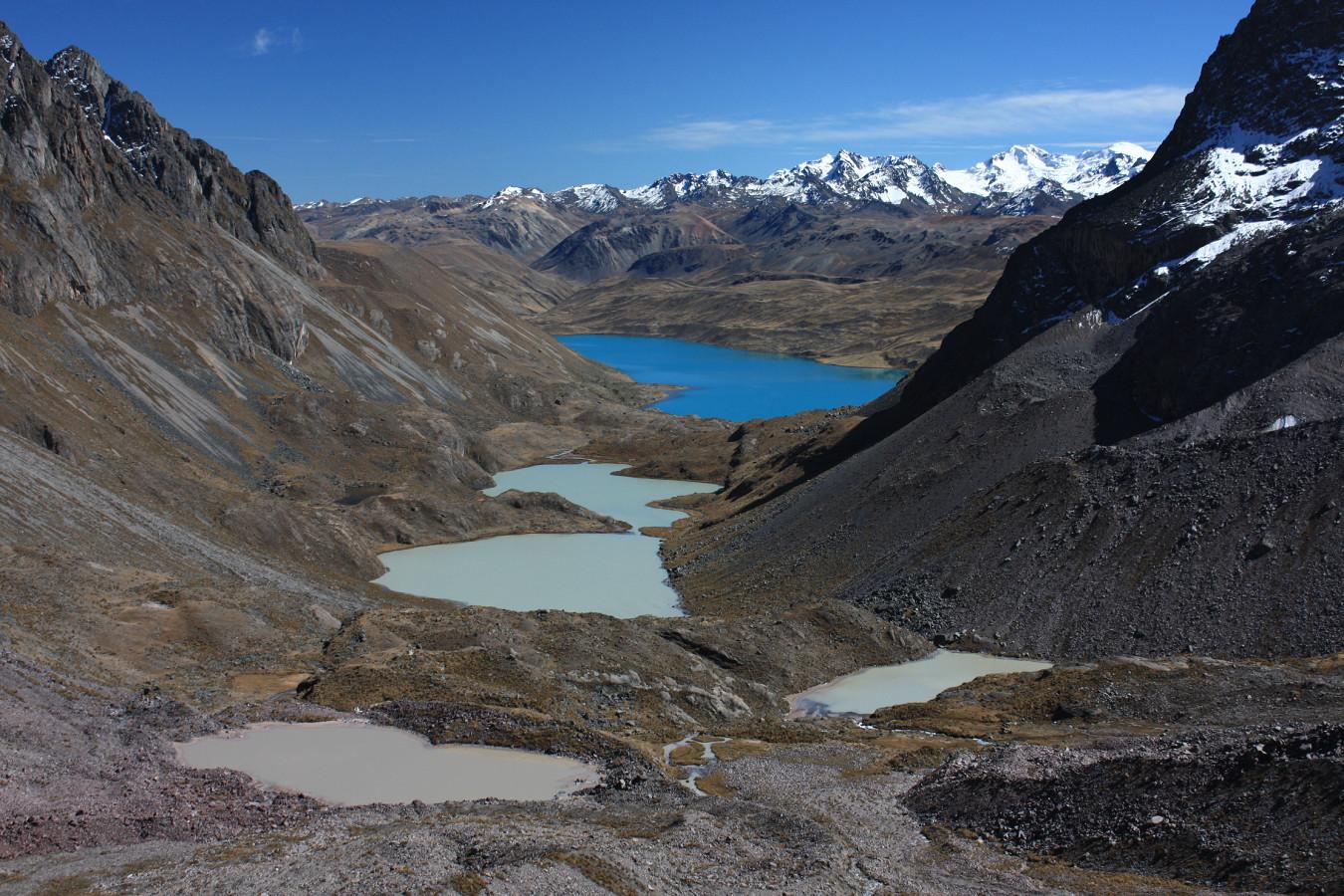 Vallée d'accès au Chumpe (Cordillera Vilcanota)