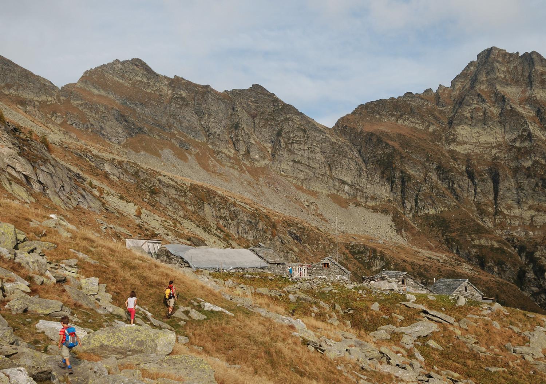 Arrivée à l'Alpe Fiorasca