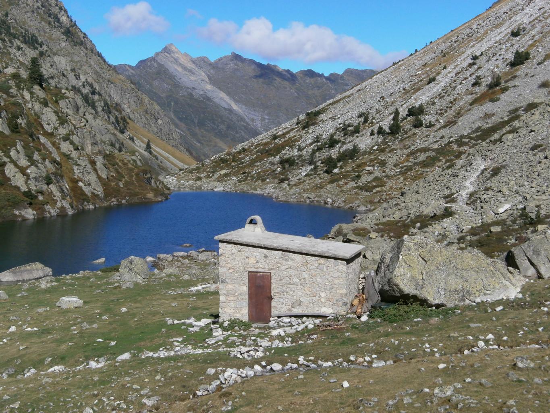 cabane du lac du Plaa du Prat