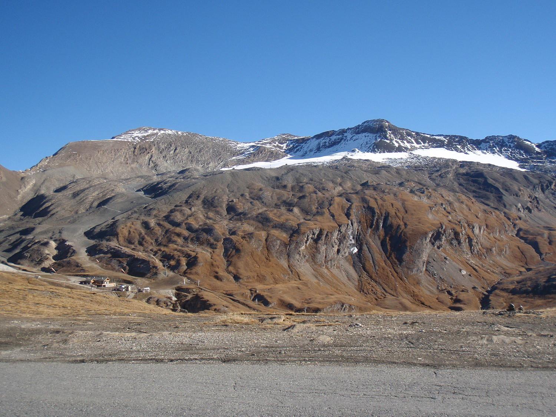L'arête vu du Col de l'Iseran