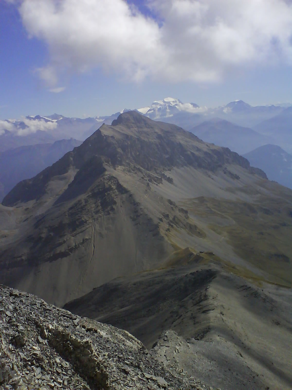 vue sur la partie nord du Petit et du Grand Chavalard