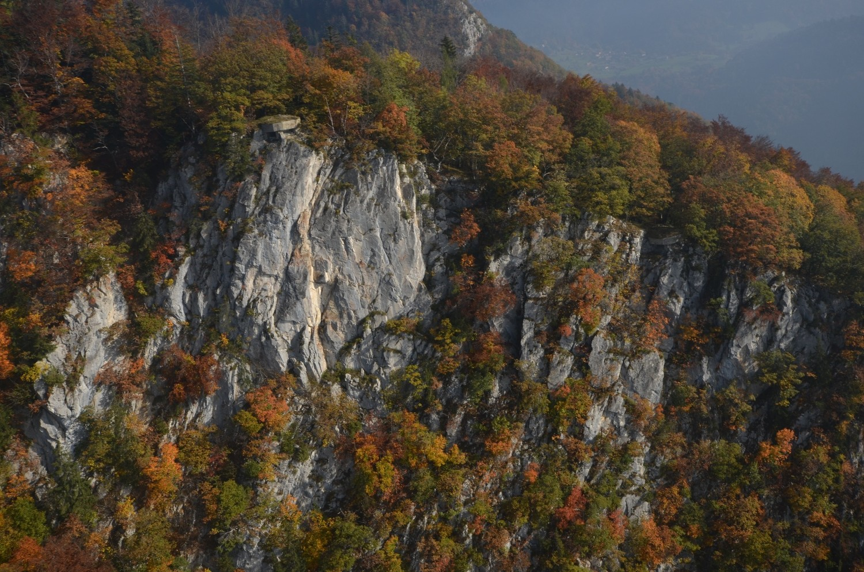 La falaise du bunker (Veyges)