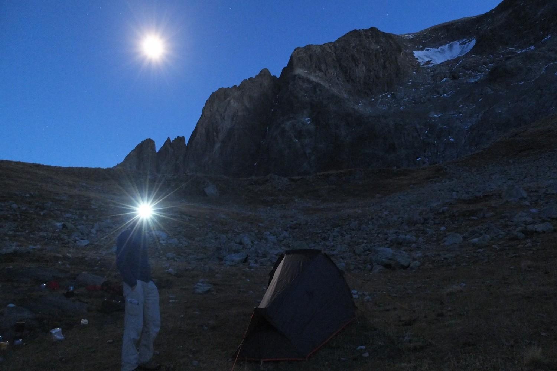 Bivouac au col du Vallon