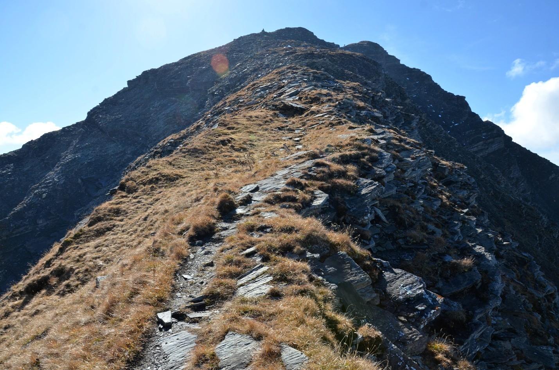 sommet de l'arête N du Giferspitz
