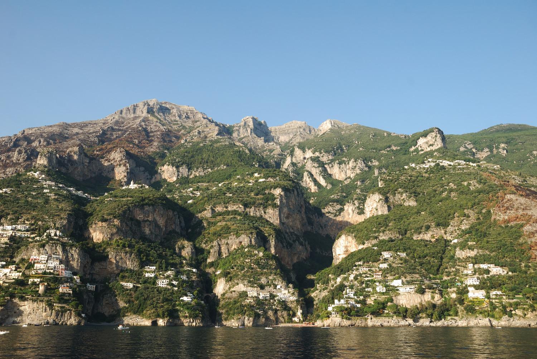 Retour en bateau vers Amalfi