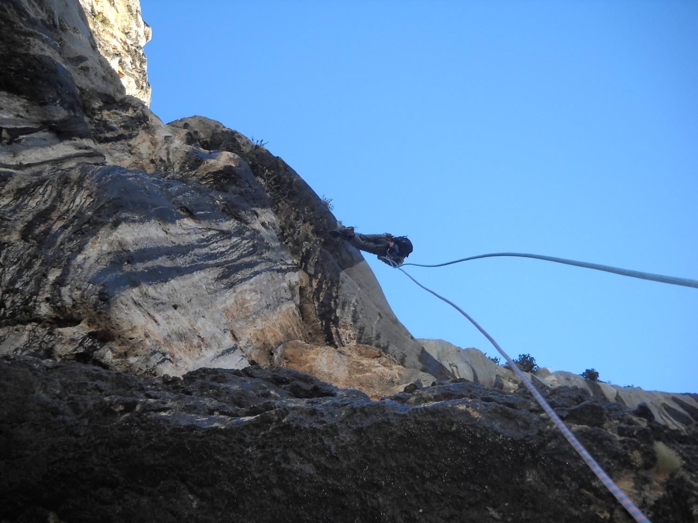 Rappel en fil d'araignée