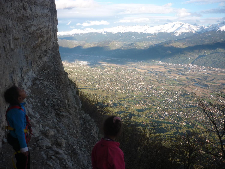 Montagne avec vue sur les villas