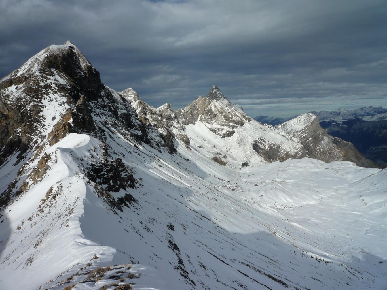 Mont Fleuri, Pointe Percée, combe des Fours