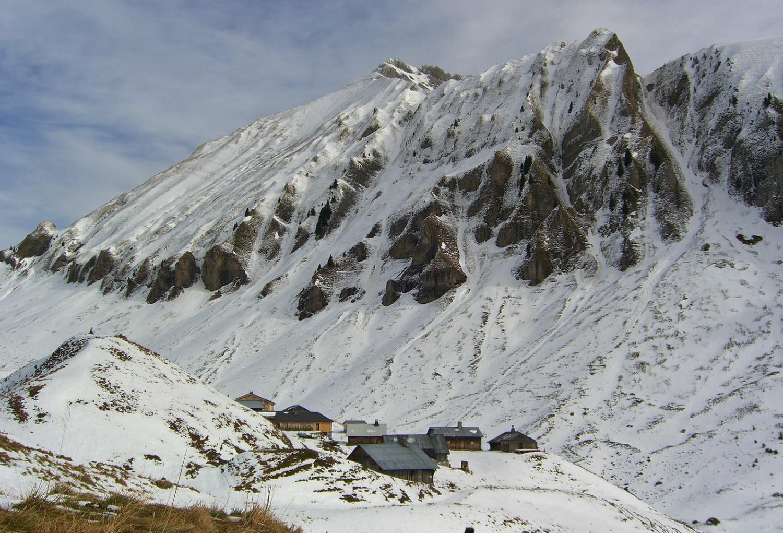 Aig Verte Chinaillon - Lessy. Sans les'skis